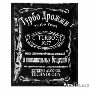 Дрожжи спиртовые Турбо 77